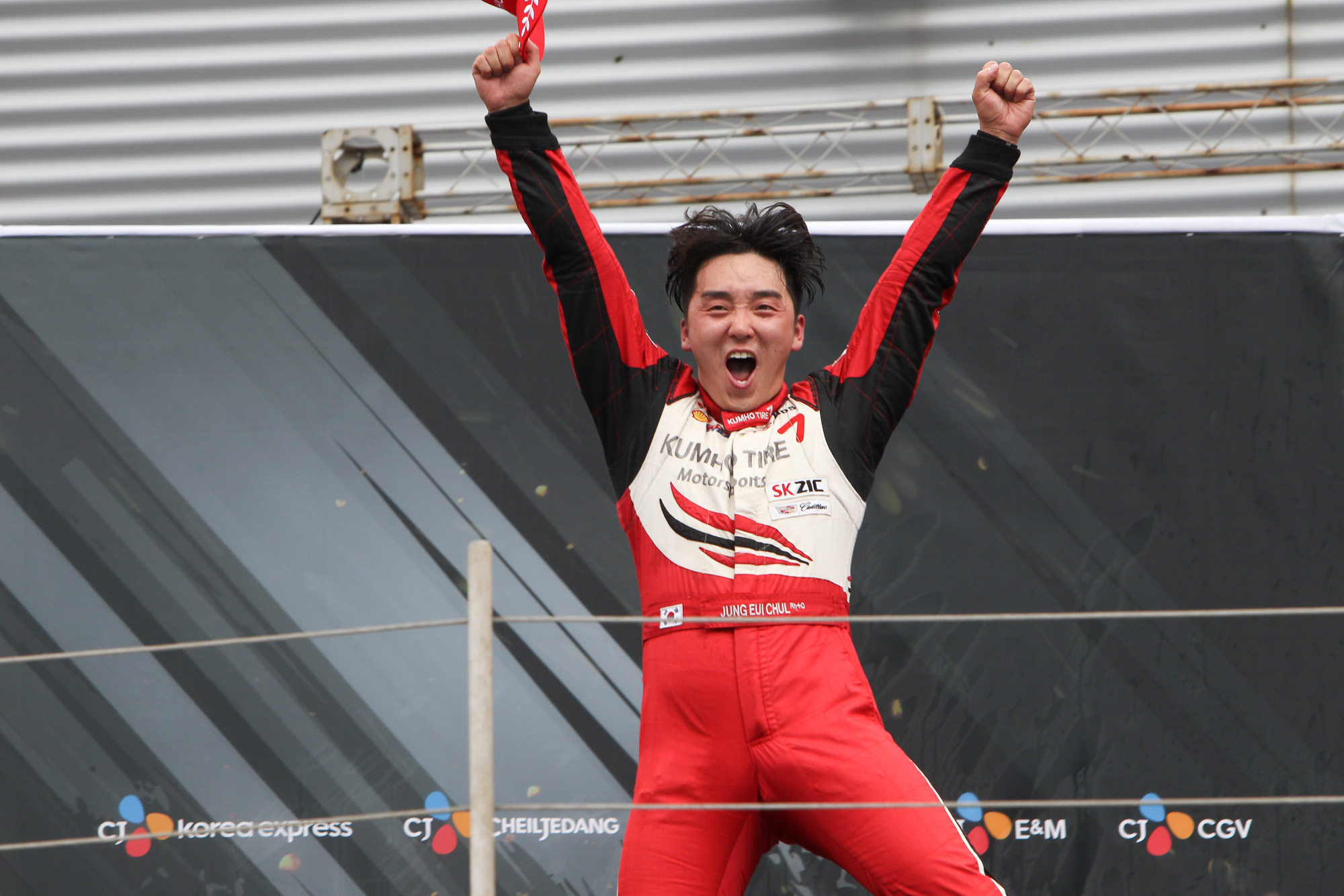 2016 SK ZIC 6000 Class Champion Jung Ui-chul